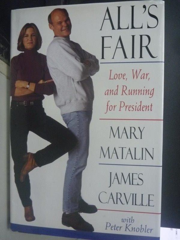 ~書寶 書T3/傳記_WDV~Alls fair : love war and runni
