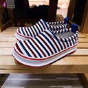 日本直入 Skippon機能鞋  美國條紋
