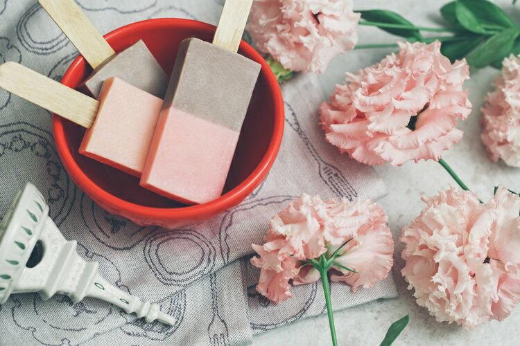 《雪文洋行》沁透快樂冰棒皂-格拉斯玫瑰園(法國玫瑰)72%馬賽皂-70g 2