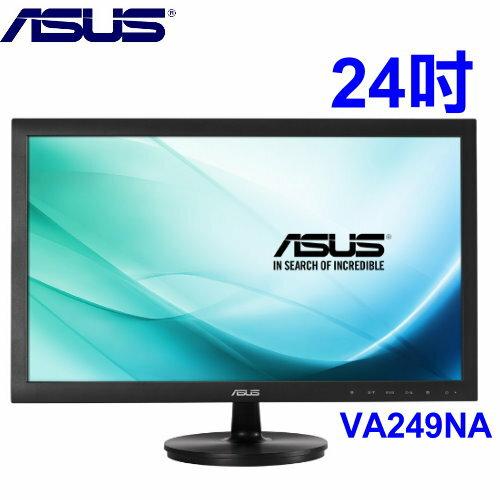 ASUS VA249NA(低藍光+不閃屏) 24型VA寬螢幕