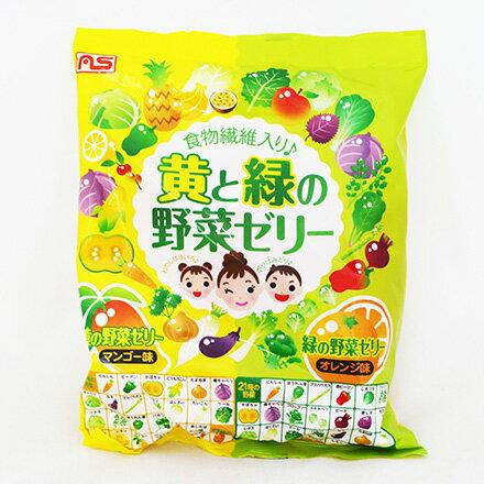 [敵富朗超市]AS-Foods綠黃元氣野菜果凍(432g) - 限時優惠好康折扣