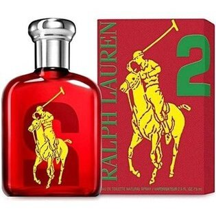 香水1986☆Ralph Lauren Polo BIG PONY #2 魅力男性淡香水 香水空瓶分裝 5ML