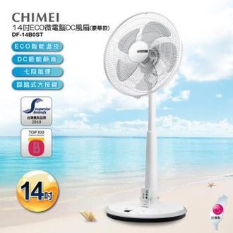 【夏末出清】CHIMEI 奇美 14吋 5葉片 微電腦豪華款智能溫控DC節能風扇 DF-14B0ST 電風扇 公司貨