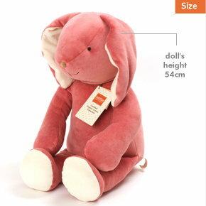 美國【miYim】有機棉 安撫娃娃-中型(邦妮兔兔) - 限時優惠好康折扣