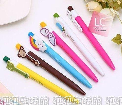 淇淇婦幼館【QQ180】卡哇伊,造型原子筆,好寫又可愛喔