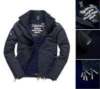 Superdry極度乾燥商品推薦男款 極度乾燥Superdry Quilted Arctic Windcheater防風衣夾克 風衣 保暖 外套 海軍藍