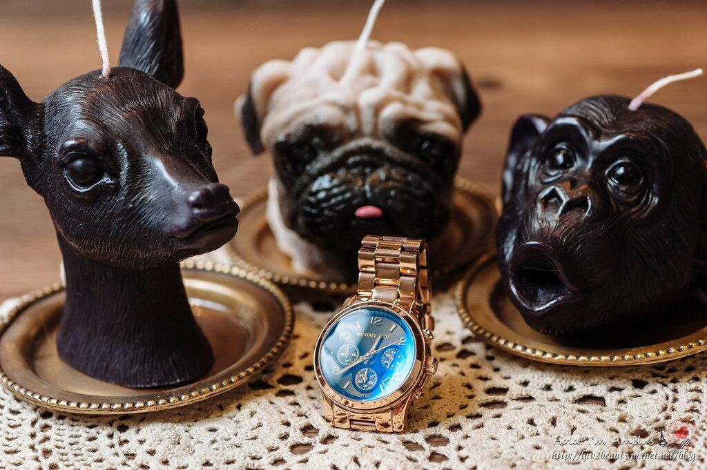 【限時8折 全店滿5000再9折】Michael Kors MK 迷幻漸層湛藍變色三眼腕錶手錶 MK5940 美國Outlet 美國正品代購 6