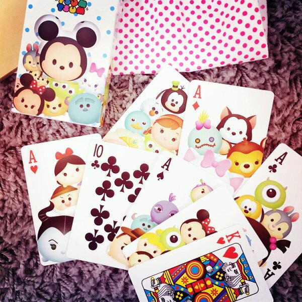 PGS7 (現貨+預購) 日本迪士尼系列商品 - TSUM TSUM 撲克牌 紙牌 迪士尼 米奇 米妮 毛怪 怪獸大學