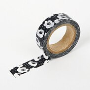 Dailylike 紙膠帶 海葵秋牡丹 造型 PARTY 韓國進口 裝飾 DIY