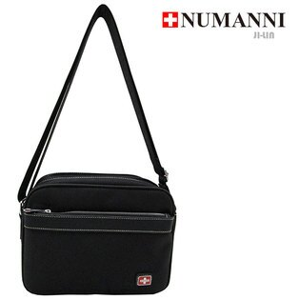 5-P821B【 NUMANNI 奴曼尼 】橫式簡約肩背包