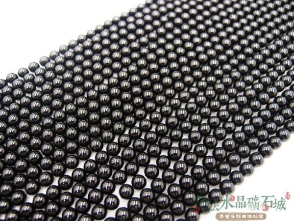 白法水晶礦石城 瑪瑙 老黑玉髓 黑瑪瑙 6mm 色澤-全黑 特級品  首飾材料-單顆訂購區