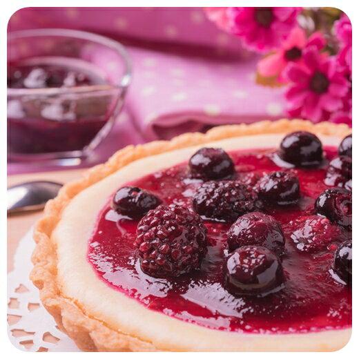 【誰の乳酪】母親節蛋糕/莓果起司派6吋 >濃濃的起司香搭配莓果的酸甜、手工派皮的酥脆,多層次的口感讓妳感到滿滿的幸福!!/可素食蛋糕