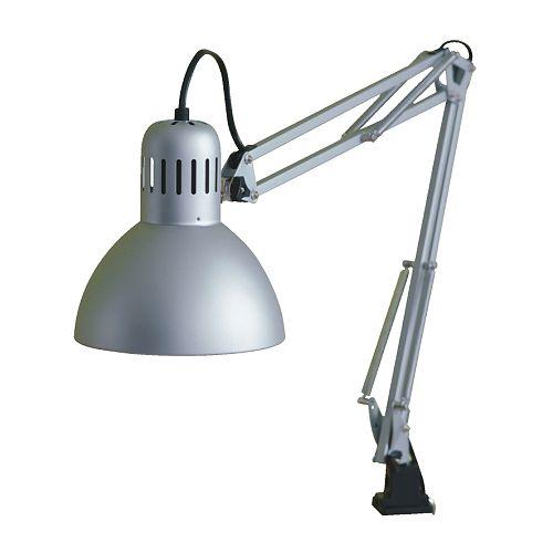 15瓦護眼高演色性CCFL液晶飛碟工作燈, 銀色(含燈泡E27蚊香型)