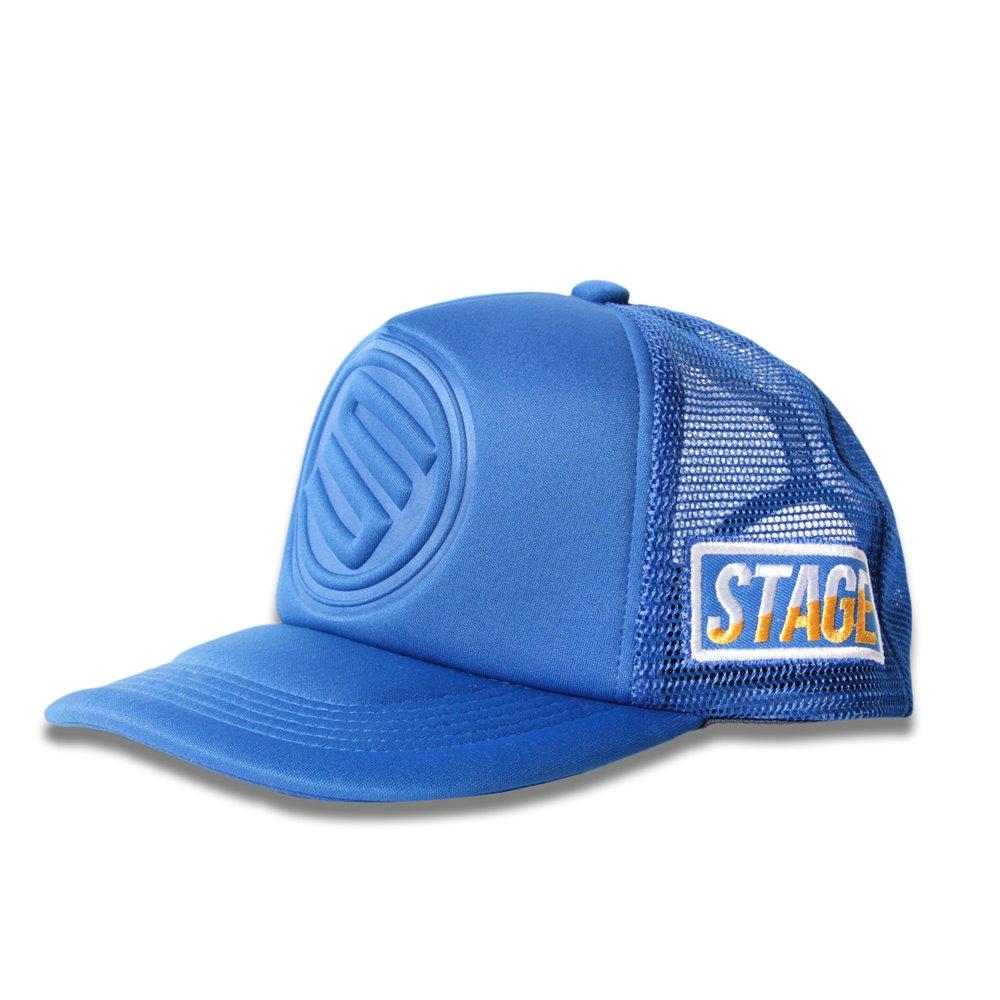 STAGE 3D LOGO MESH CAP 桃紅/深藍/黑/紅/寶藍 五色 6