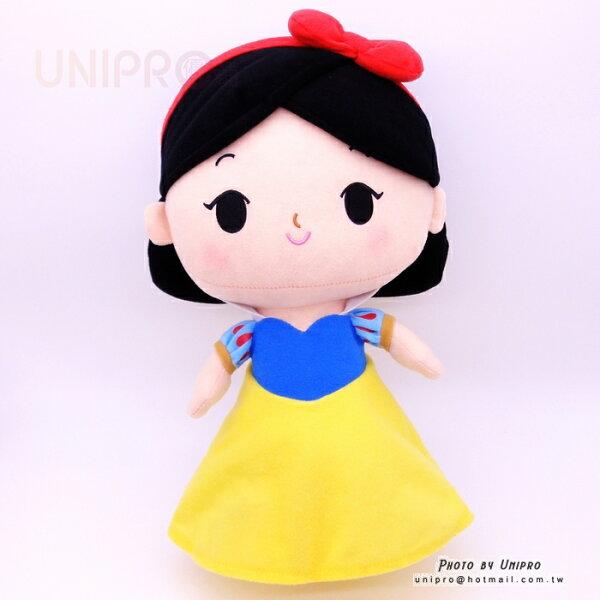 【UNIPRO】迪士尼正版 白雪公主 Snow White 36公分高 絨毛娃娃 站姿玩偶 禮物 經典童話故事