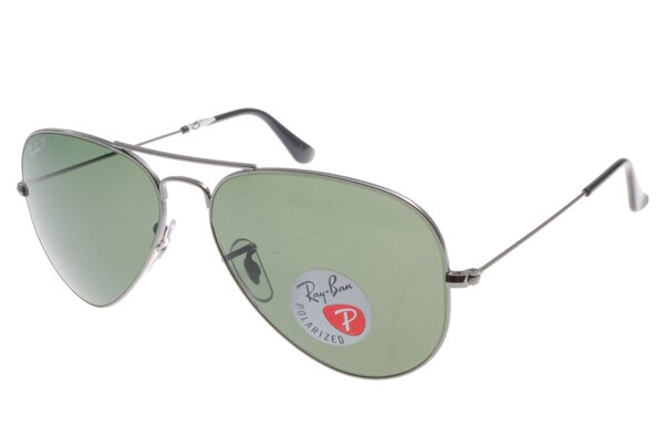 Ray Ban雷朋 槍色銀邊 太陽眼鏡 RB3025 偏光鏡 2