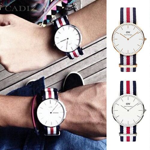 【Cadiz】瑞典DW手錶 Daniel Wellington DW錶 0102DW玫瑰金 0202DW銀 Canterbury 40mm [代購/ 現貨] - 限時優惠好康折扣
