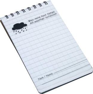 baladeo 防水筆記本 PLR704 法國 登山紀錄/溯溪浮潛/野外調查/樣區/行程紀錄筆記本