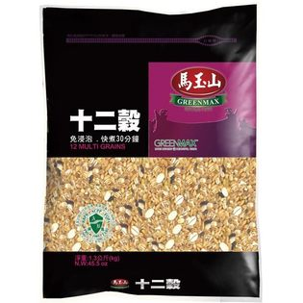 【馬玉山】十二穀米1300g