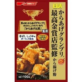 有樂町進口食品 日清炸物粉-醬油蒜味 100g 4902110316155 0