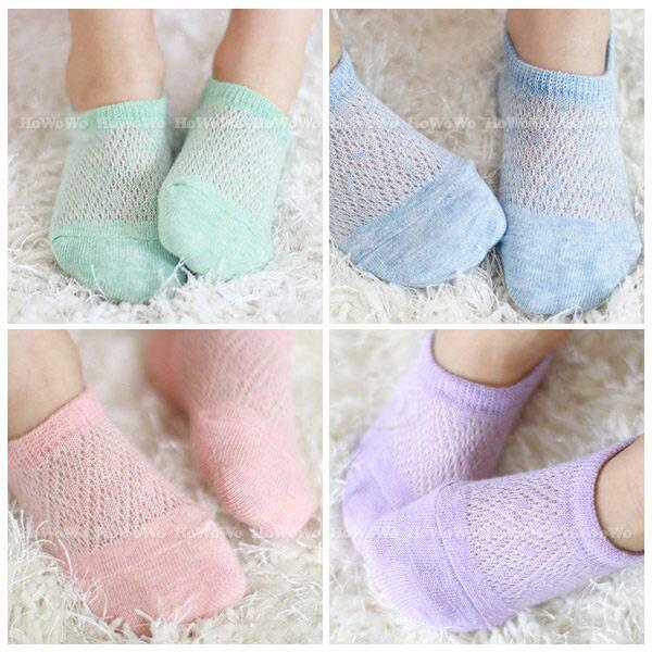 童襪 寶寶襪 縷空短襪 嬰兒襪 船型襪 0-4歲 CA1152