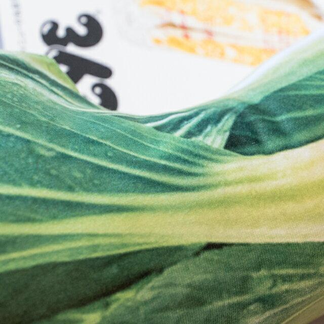 日雜風格 青江菜抱枕 花色獨特 觸感扎實 3