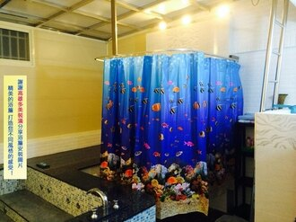 《喨晶晶生活工坊》PEVA 防水浴簾˙隔間簾、防止冷氣外洩 EEH、180*180cm