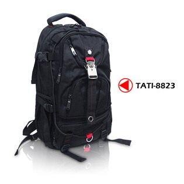 【加賀皮件】 TaTi 符合人體工學 多功能休閒 運動 電腦後背包書包 【8823】