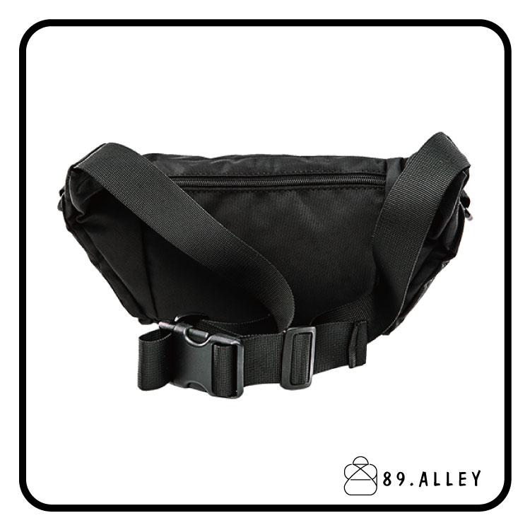 腰包 單肩包 女包男包 黑色系防水包 輕量尼龍立體多層情防搶包 89.Alley 3