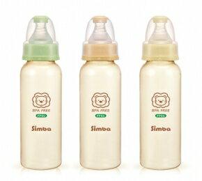 台灣【Simba 小獅王】 PPSU標準大奶瓶(240ml) 0