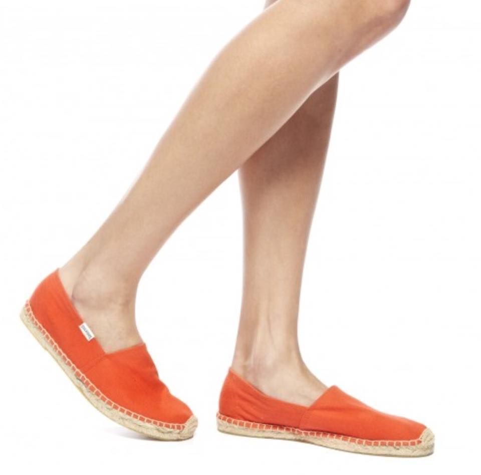 【Soludos】美國經典草編鞋-基本款草編鞋-橘 5