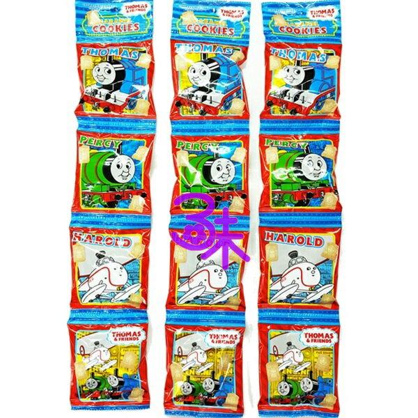(日本) 北陸 湯瑪士小火車4連牛奶餅 1組3條(64g*3條)  特價 220 元【4932395887712 】