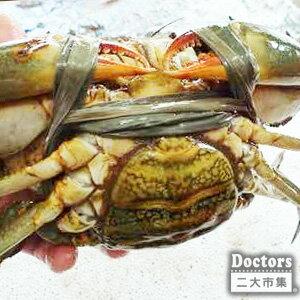 活蟹到府 *二大市集【Doctor嚴選-台灣紅蟳_4~5隻】蟹膏肥美-紅蟹(總重約1800~1900g)