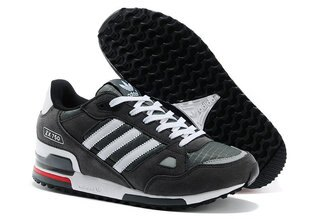 Adidas/愛迪達 ZX750系列 男鞋 慢跑鞋 運動休閒鞋 (40—45灰白)
