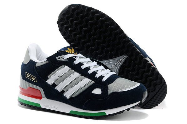 Adidas/愛迪達 ZX750系列 慢跑鞋 運動休閒鞋 男鞋(40—45灰藍綠)