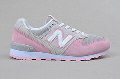 New Balance 996新配色淺灰粉色 女鞋