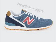 New Balance 996藍紅 女鞋