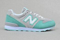 New Balance 996新配色淺灰綠色 女鞋