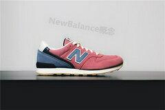 New Balance 996新配色紅色藍色 女鞋