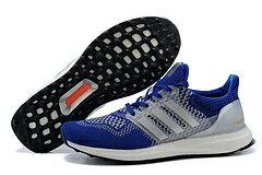 Adidas ultra boost男女運動跑步鞋 寶藍白 男鞋