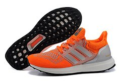 Adidas ultra boost運動跑步鞋 橘紅 女鞋