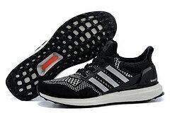 Adidas ultra boost運動跑步鞋 黑銀 男鞋