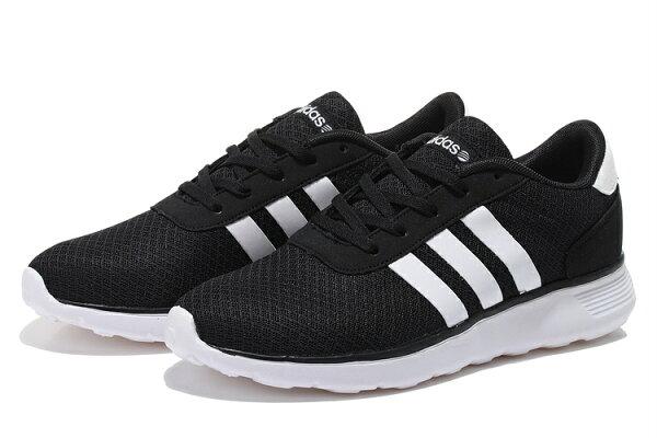 夏季風暴 愛迪達 Adidas NEO 校園風 黑白 男女情侶鞋