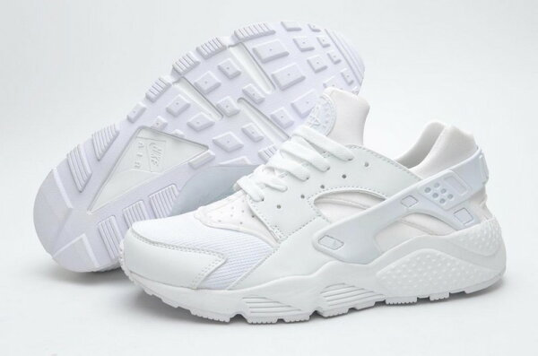 Nike Air Huarache Triple White 白色318429-111 情侶鞋