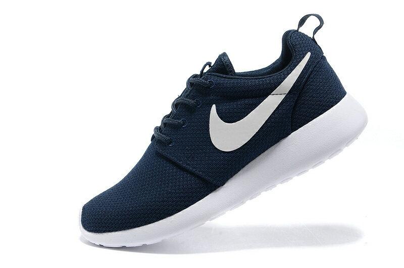 Nike 倫敦 奧運網布新款跑鞋 深藍白 男女鞋