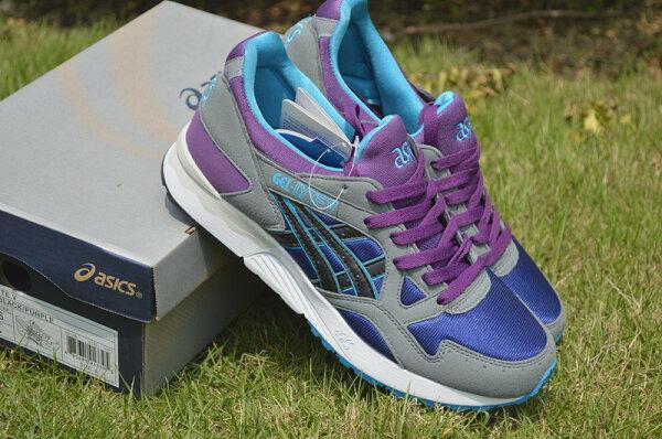 亞瑟士Asics Gel Lyte V OG 5III男女復古跑鞋H312N 藍紫