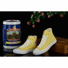 Converse/匡威 小時代-炫色人生 F8061 女生板鞋 運動休閒鞋 慢跑鞋(黃色35-39)