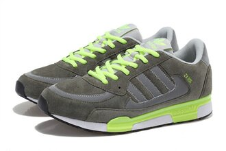 Adidas 愛迪達 李敏鎬 金嘆款ZX850三葉草 橄欖綠/熒光 男鞋