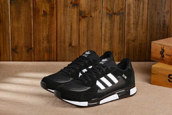 Adidas 愛迪達 經典款李敏鎬金嘆款三葉草ZX850 經典黑/白 男女情侶鞋