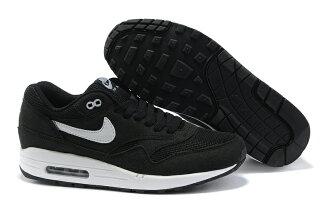 Nike air max 87系列 黑/白 男鞋